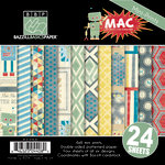 Bazzill - Mac Collection - 6 x 6 Assortment Pack