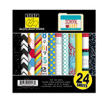 Bazzill - School Days Collection - 6 x 6 Assortment Pack