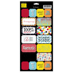 Bazzill - School Days Collection - Cardstock Stickers - Good Job