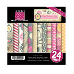 Bazzill - Miss Teagen Sue Collection - 6 x 6 Miss Assortment Pack