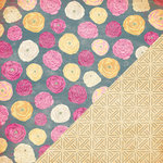 Bazzill - Miss Teagen Sue Collection - 12 x 12 Double Sided Paper - Ranunculus