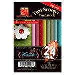 Bazzill Basics - Two Scoops Collection - Ambrosia - 4 x 6 Sandable Cardstock Pack