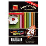 Bazzill Basics - Two Scoops Collection - Lucy's Crab Shack - 4 x 6 Sandable Cardstock Pack