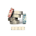 Bazzill - Antique Paper Tape - Ruler