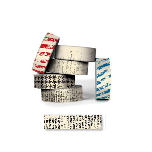 Bazzill - Antique Paper Tape - Dictionary