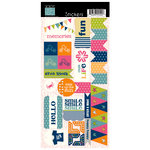 Bazzill Basics - Lucy's Crab Shack Collection - Cardstock Stickers