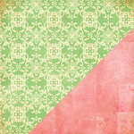 Bazzill - Margie Romney Aslett - Ambrosia Collection - 12 x 12 Double Sided Paper - Brocade