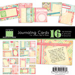 Bazzill Basics - Margie Romney Aslett - Ambrosia Collection - Lickety Slip - 4 x 6 Journaling Cards