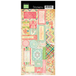 Bazzill - Margie Romney Aslett - Ambrosia Collection - Cardstock Stickers