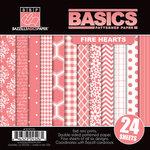 Bazzill Basics - Basics Collection - 6 x 6 Assortment Pack - Fire Hearts