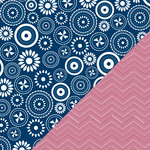 Bazzill Basics - Freedom Collection - 12 x 12 Double Sided Paper - To The Prairies
