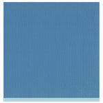 Bazzill - Two Scoops Collection - 12 x 12 Sandable Cardstock - Blueberry Cheesecake