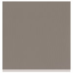 Bazzill Basics - Two Scoops Collection - 12 x 12 Sandable Cardstock - Black Walnut