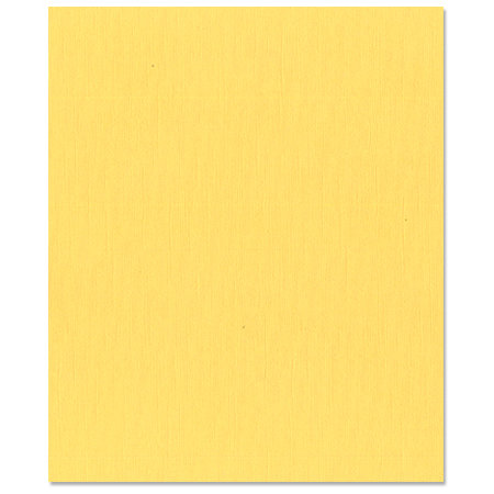 Bazzill Basics - 8.5 x 11 Cardstock - Canvas Texture - Lemonade