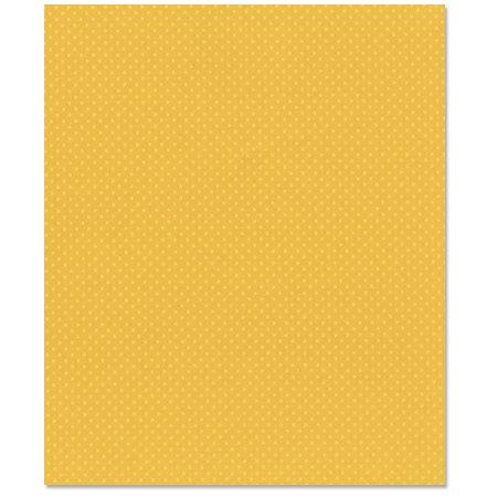Bazzill Basics - 8.5 x 11 Cardstock - Dotted Swiss Texture - Butter
