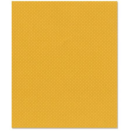 Bazzill Basics - 8.5 x 11 Cardstock - Dotted Swiss Texture - Honey
