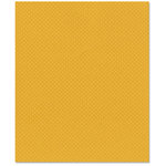 Bazzill Basics - 8.5 x 11 Cardstock - Dotted Swiss Texture - Honey