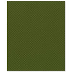 Bazzill Basics - 8.5 x 11 Cardstock - Dotted Swiss Texture - Clover Leaf