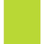 Bazzill Basics - Card Shoppe - 8.5 x 11 Cardstock - Premium Smooth Texture - Juicy Pear