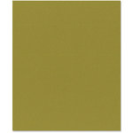 Bazzill Basics - 8.5 x 11 Cardstock - Orange Peel Texture - Olive, CLEARANCE