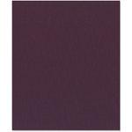 Bazzill Basics - 8.5 x 11 Cardstock - Grasscloth Texture - Black Orchid