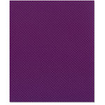 Bazzill Basics - 8.5 x 11 Cardstock - Dotted Swiss Texture - Plum Pudding