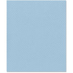Bazzill Basics - 8.5 x 11 Cardstock - Dotted Swiss Texture - Poolside