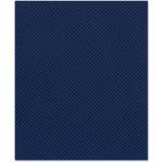 Bazzill Basics - 8.5 x 11 Cardstock - Dotted Swiss Texture - Deep Blue