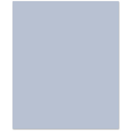 Bazzill - 8.5 x 11 Cardstock - Smooth Texture - Bermuda Blue