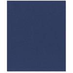 Bazzill Basics - 8.5 x 11 Cardstock - Classic Texture - Navy