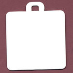 Bazzill Basics - Chipboard Tags - Square, CLEARANCE
