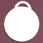 Bazzill Basics - Chipboard Tags - Circle, CLEARANCE