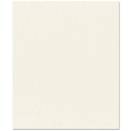 Bazzill Basics - 8.5 x 11 Cardstock - Criss Cross Texture - Cream Puff