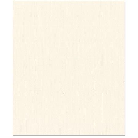 Bazzill Basics - 8.5 x 11 Cardstock - Grasscloth Texture - French Vanilla