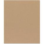 Bazzill Basics - 8.5 x 11 Cardstock - Canvas Texture - Fawn