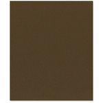 Bazzill - 8.5 x 11 Cardstock - Orange Peel Texture - Espresso