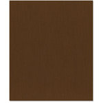 Bazzill Basics - 8.5 x 11 Cardstock - Grasscloth Texture - Mocha Divine