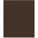 Bazzill Basics - 8.5 x 11 Cardstock - Grasscloth Texture - Bitter Chocolate