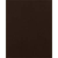 Bazzill Basics - Bulk Cardstock Pack - 25 Sheets - 8.5x11 - Brown