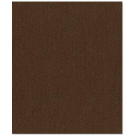 Bazzill Basics - 8.5 x 11 Cardstock - Canvas Texture - Brown