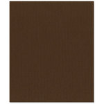 Bazzill Basics - 8.5 x 11 Cardstock - Canvas Texture - Brown