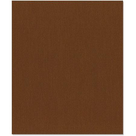 Bazzill Basics - 8.5 x 11 Cardstock - Canvas Texture - Nutmeg