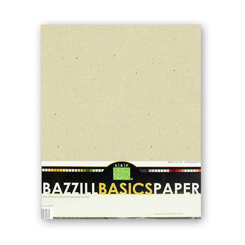 Bazzill Basics - Bulk Cardstock Pack - 25 Sheets - 8.5x11 - Kraft