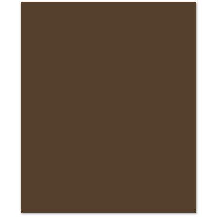 Bazzill - 8.5 x 11 Cardstock - Smooth Texture - Hot Fudge