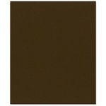 Bazzill Basics - 8.5 x 11 Cardstock - Canvas Texture - Java
