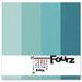 Bazzill Basics - Fourz Multi-Packs - 12 x 12 - Aqua