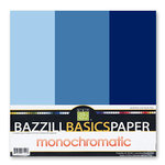 Bazzill - Monochromatic Trio Packs - 12x12 - Arctic