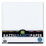 Bazzill Basics - 12 x 12  Bazzill White Cardstock Pack (Textured)