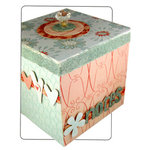Bazzill Basics - Creative Escape - Heidi Swapp - Greeting Card Storage Box - Class by Tena Sprenger - Does not include color copies and glitter, CLEARANCE