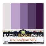 Bazzill Basics - Monochromatic Packs 12x12 - Purples